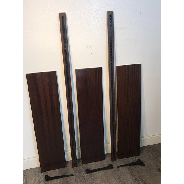 Danish Modern Rosewood Adjustable Shelves For Sale - Image 11 of 12