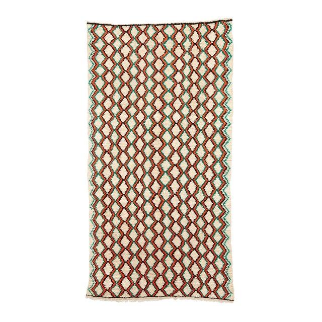 Vintage Azilal Handwoven Rug - 8′8″ × 12′3″ For Sale