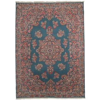 "Vintage Persian Kerman Area Rug - 9'11"" X 12'8"" For Sale"