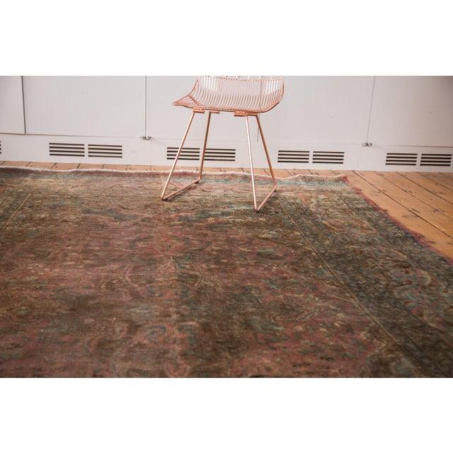 """Vintage Meshed Carpet - 7'3"""" x 12'6"""" - Image 6 of 9"""