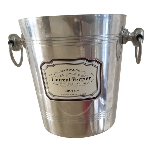 1960s Vintage French Silver Champagne Bucket For Sale
