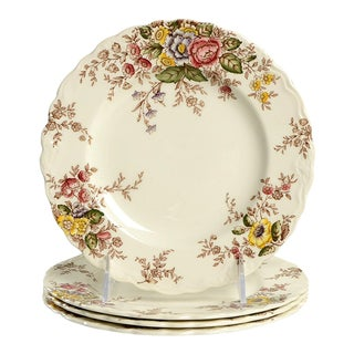 Crown Ducal Rydal Salad Plate - Set of 4 For Sale
