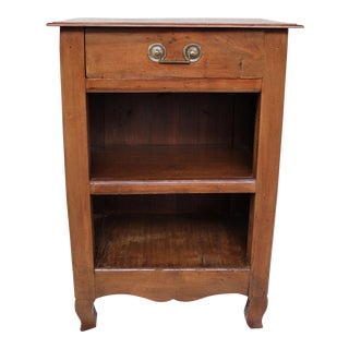 Country French Walnut Commode For Sale