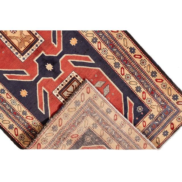 """Apadana - Vintage n.w. Persian Runner Rug, 4'6"""" X 10'2"""" For Sale - Image 4 of 7"""