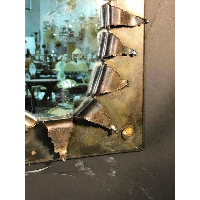 Brutalist Eye Form Mirror For Sale - Image 4 of 9