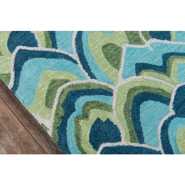Contemporary Madcap Cottage Embrace Cloud Club Green Area Rug 5' X 8' For Sale - Image 3 of 8