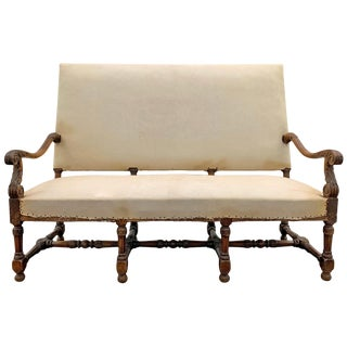 17th Century Louis XIV Settee For Sale
