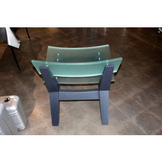 Rob Edley Welborn Prototype Lounge Chair in Plexiglass and Painted Wood Preview