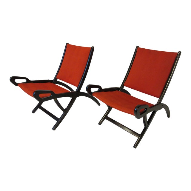 Gio Ponti Lounge Chairs for Fratelli Reguitti Italy For Sale