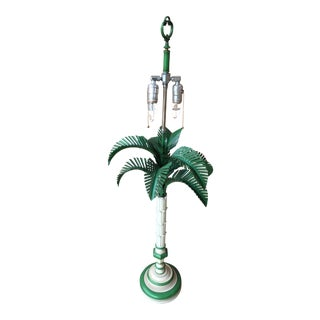 1960s Palm Tree Lamp For Sale