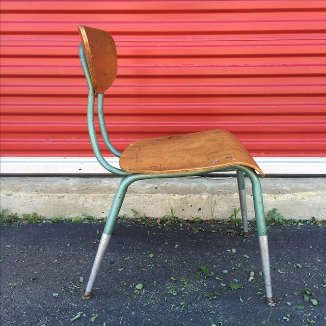 Mid Century Modern Bentwood Chair For Sale - Image 4 of 11