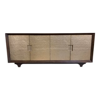 Worlds Away Wood & Metal Sideboard For Sale