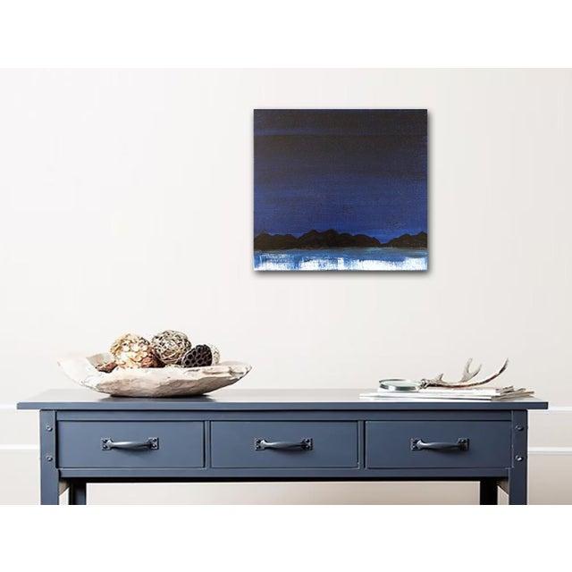 "Linnea Heide ""Midnight Range"" Original Painting - Image 6 of 6"