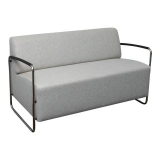 Dietiker Logo Two-Seat Sofa For Sale