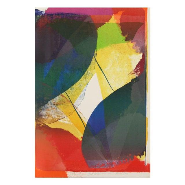 Paul Jenkins - Mourlot Paris Lithograph - Image 1 of 2