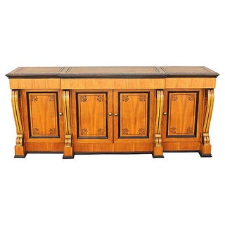 """1970's Beautifully Detailed """"Baker"""" Sideboard For Sale"""
