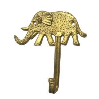Elefant Brass Hook For Sale