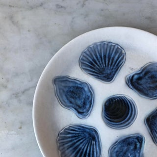 Vintage Majolica Oyster Plate Preview