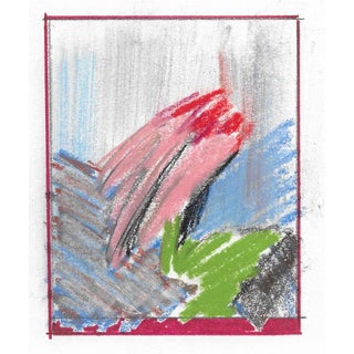 1996 Charles Dudley Abstract Pastel For Sale