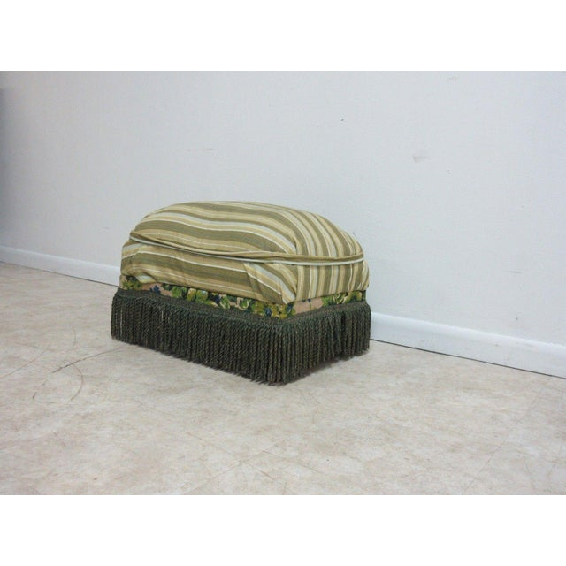 Antique Storage Footstool Ottoman For Sale In Philadelphia - Image 6 of 11