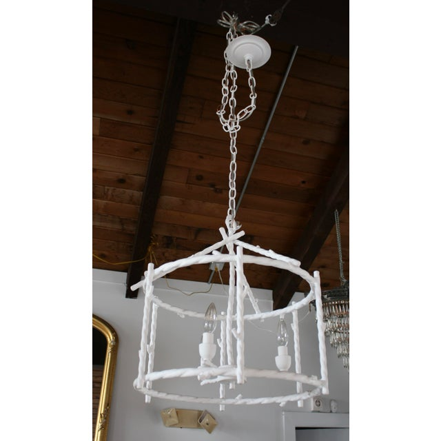 This metal bamboo chandelier adds instant style, warmth, and character with a whimsical touch. Updating the metal birdcage...