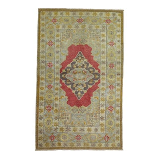 "Turkish Scatter Rug - 3'2"" x 4'8"" For Sale"