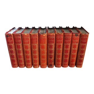 "Antique ""Modern Eloquence"" Book Set - 10 Volumes For Sale"