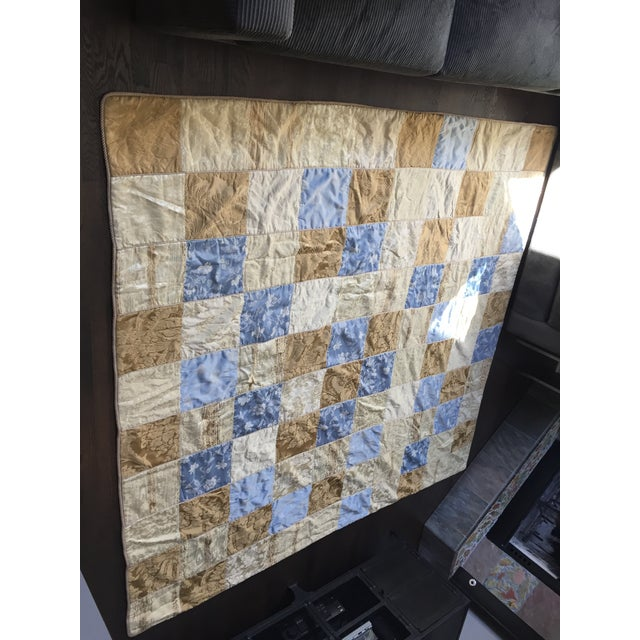 Sherry Koppel Designs Handmade King Size Quilt or Wall Hanging For Sale - Image 10 of 12