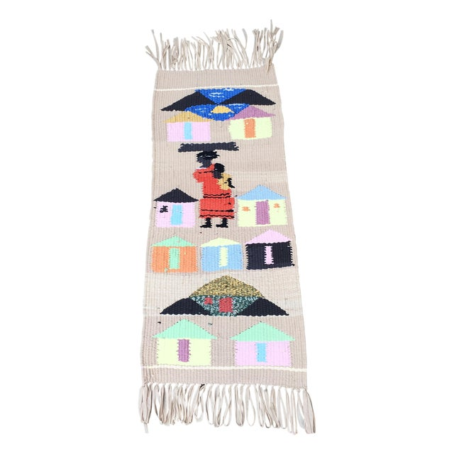 Tribal Hand Woven Rug - Image 1 of 6