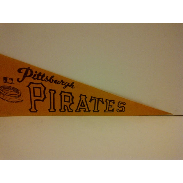 Vintage World Champs Team Pennant Circa 1970 For Sale - Image 4 of 6