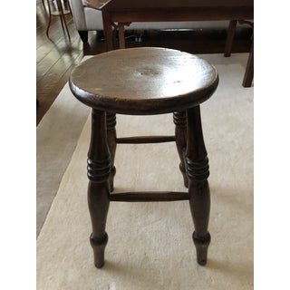 19th Century Elm and Pine Stool Preview
