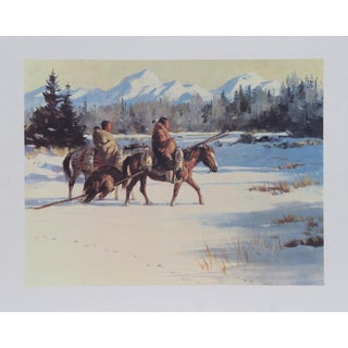 Duane Bryers, Back of the River , Lithograph For Sale