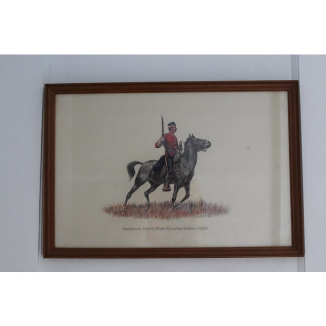 Sergeant, North-West Mounted Police 1885, the perfect piece for your walls. The best part? It's already framed!