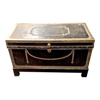 English Regency Campaign Trunk For Sale