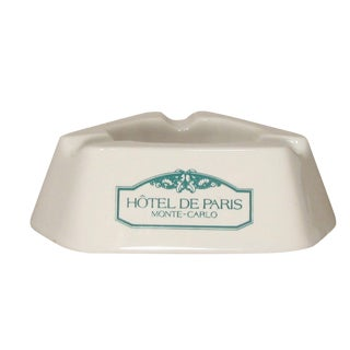 Hotel de Paris, Monte Carlo Ashtray For Sale