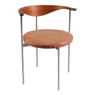 """""""3200"""" Desk/Side Chair by Frederik Sieck for Fritz Hansen, Denmark, 1960s"""
