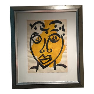 Peter Keil Cubist Abstract Face Painting