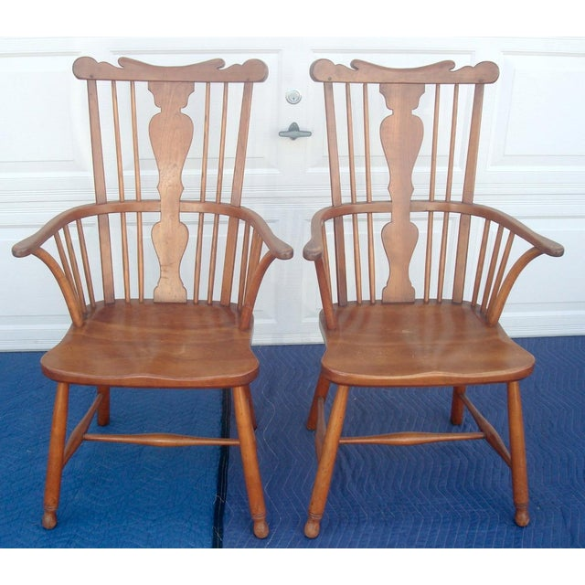 Stickley Windsor Back Dining Chairs - Set of 6 For Sale - Image 9 of 11