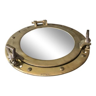 Porthole Nautical Mirror Tray