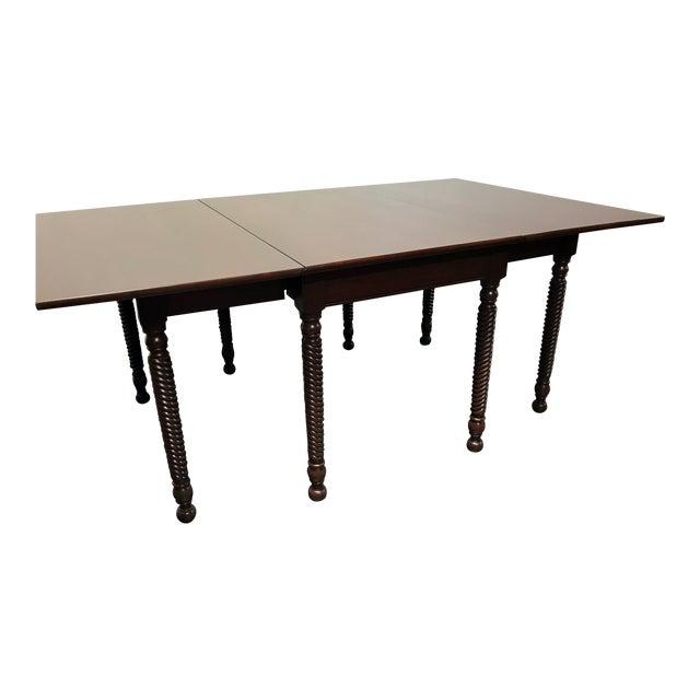 Willett Cherrywood Gate Leg Drop Leaf Dining Table For Sale
