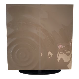 Contemporary Roche Bobois Speed Up Collection Computer Storage Unit For Sale