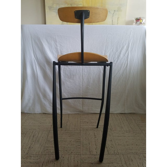 Modern Bar Stools - Set of 3 For Sale In Miami - Image 6 of 8