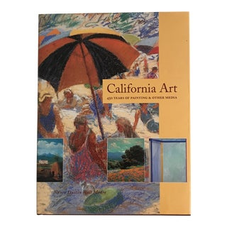 """California Art"" Signed First Edition 1998 Art Book"