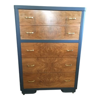 1940s Vintage Refinished Dresser For Sale