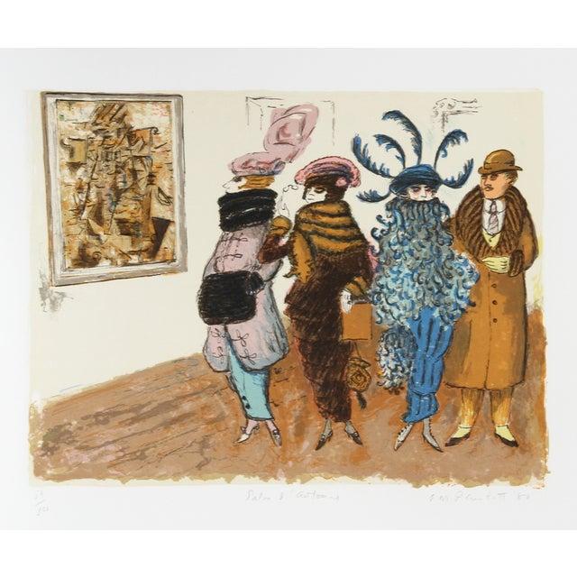 Edward M. Plunkett, Salon D'Automne, Lithograph For Sale