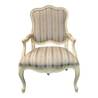 Ethan Allen Chantal Fauteuil Chair For Sale