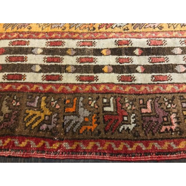 "Bellwether Rugs Vintage Turkish Oushak Area Rug - 4'6"" X 7' - Image 8 of 11"