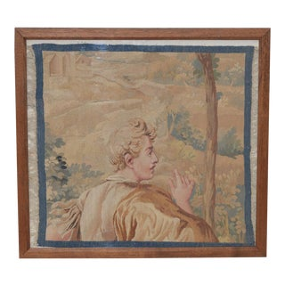 18th to 19th Century French Tapestry Fragment For Sale