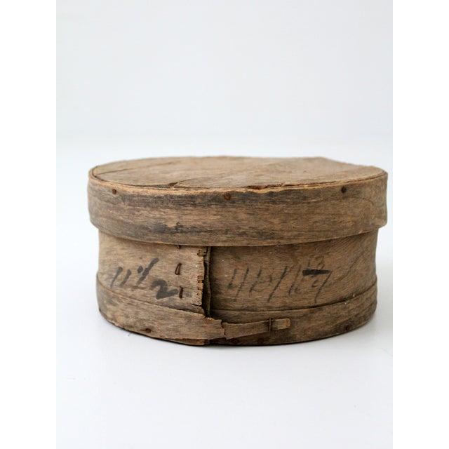 Antique Primitive Cheese Box - Image 5 of 6