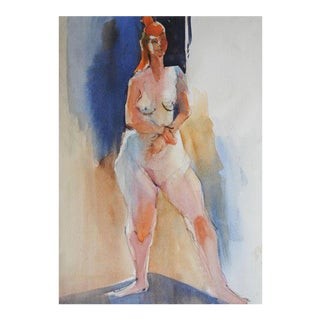 Figurative Watercolor Painting